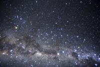 満天の星空とケンタウルス座付近の星座