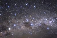 満天の星空と南十字星