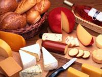 チーズ・パン・ワイン