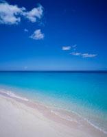 白砂の海岸と海