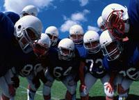 アメリカンフットボールの円陣