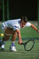 テニス 01676002822| 写真素材・ストックフォト・画像・イラスト素材|アマナイメージズ
