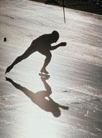 スピードスケート 01676004189| 写真素材・ストックフォト・画像・イラスト素材|アマナイメージズ