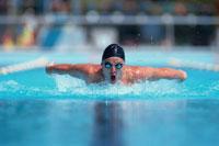 競泳 01676004525  写真素材・ストックフォト・画像・イラスト素材 アマナイメージズ
