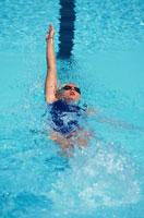 競泳 01676004553  写真素材・ストックフォト・画像・イラスト素材 アマナイメージズ