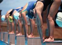 競泳 01676004587  写真素材・ストックフォト・画像・イラスト素材 アマナイメージズ