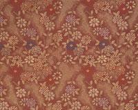 花柄の織物 01678014437| 写真素材・ストックフォト・画像・イラスト素材|アマナイメージズ