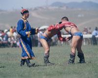 ナーダム祭(相撲)   ウランバートル モンゴル