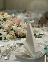 テーブルセッティング 01718000877| 写真素材・ストックフォト・画像・イラスト素材|アマナイメージズ