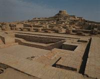 モヘンジョダロ遺跡の風景 パキスタン
