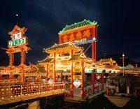 アバティーンの夜景 香港