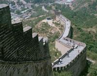 万里の長城  北京 中国