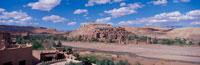 砂漠の中のカスバの街 アイトベンハッドゥー モロッコ