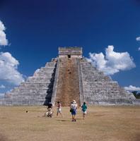 マヤ文明の夢の跡・エルカスティーヨ城 ユカタン メキシコ 01756076697| 写真素材・ストックフォト・画像・イラスト素材|アマナイメージズ