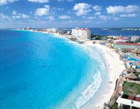 カンクンビーチ メキシコ 01756093920| 写真素材・ストックフォト・画像・イラスト素材|アマナイメージズ