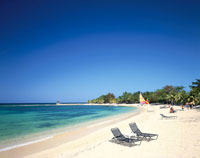 ハーフムーンクラブビーチ モンテゴベイ ジャマイカ