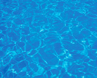 プールの波紋 01774000288| 写真素材・ストックフォト・画像・イラスト素材|アマナイメージズ