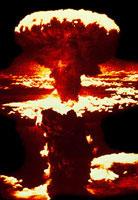 長崎に投下された原子爆弾 1945年