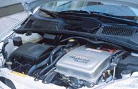 ハイブリッド車エンジン