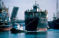 Tug Boat and Ship