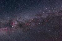 北の夏の銀河