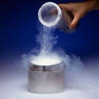 Pouring Liquid Nitrogen