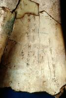 甲骨文字 01808032367| 写真素材・ストックフォト・画像・イラスト素材|アマナイメージズ