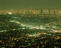ロサンジェルス夜景 01809004037| 写真素材・ストックフォト・画像・イラスト素材|アマナイメージズ