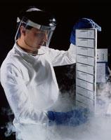 生物学のリサーチ:低温貯蔵