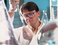 実験室の化学者