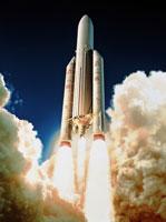 Ariane 5 ロケット発射