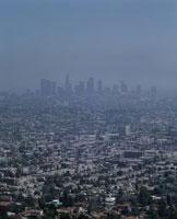 L.A.上空光化学スモッグ
