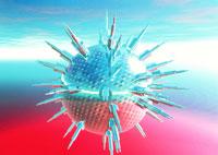 ウィルスの攻撃 01809011073| 写真素材・ストックフォト・画像・イラスト素材|アマナイメージズ