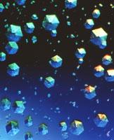 インシュリンの結晶