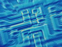マイクロチップの表面