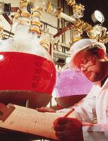 化学産業 01809011885  写真素材・ストックフォト・画像・イラスト素材 アマナイメージズ