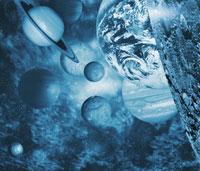 太陽系 01809012048| 写真素材・ストックフォト・画像・イラスト素材|アマナイメージズ