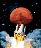 宇宙探査 01809012052| 写真素材・ストックフォト・画像・イラスト素材|アマナイメージズ