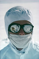 Ice core chemist Mike Landy