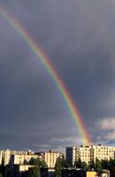 Rainbow over Turku, Finland 01809012418| 写真素材・ストックフォト・画像・イラスト素材|アマナイメージズ