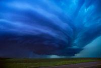 Mesocyclone thunderstorm