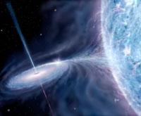 Cygnus X-1 black hole candidate 01809012972| 写真素材・ストックフォト・画像・イラスト素材|アマナイメージズ