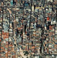 Bogota, Colombia, satellite image