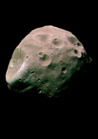 Phobos, Martian moon, Mars Express image 01809014544| 写真素材・ストックフォト・画像・イラスト素材|アマナイメージズ