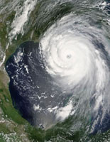 Hurricane Katrina, 28th August 2005