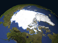 Arctic sea ice, 1979