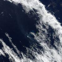 New volcanic island in Tonga, 10/08/2006