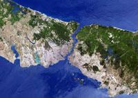 Istanbul, satellite image