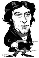 Michael Faraday,caricature