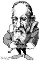 Galileo Galilei,caricature